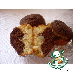 Рецепт Кексы с грушей