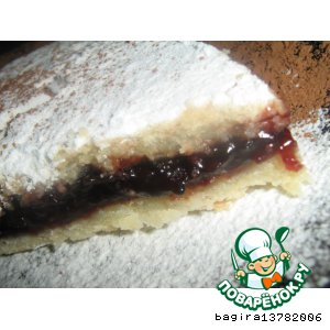 Рецепт Белое тесто и пирог из него