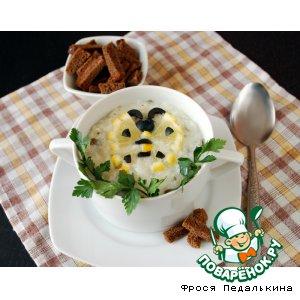 Рецепт Рисовый суп со шпинатом и лимоном