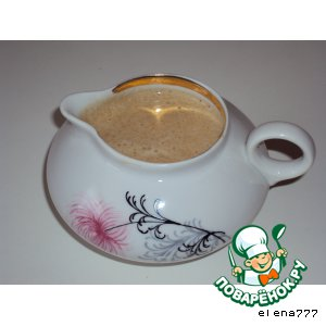 Сливочно-кофейный соус простой рецепт приготовления с фотографиями пошагово как готовить
