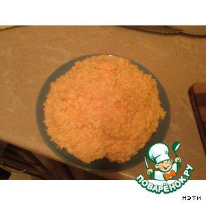 """Рецепт Салат """"Морковь и плавленный сыр"""""""