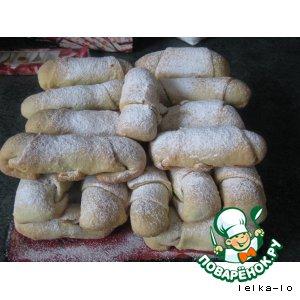 """Рецепт Трубочки с ореховой начинкой """"Мутаки"""""""