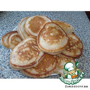Рецепт Гречнево-пшеничные оладушки