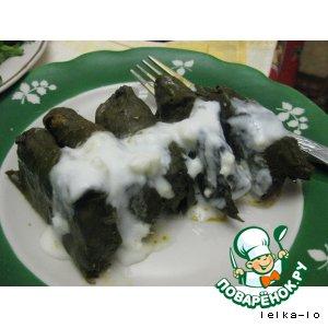 Долма с мацони вкусный рецепт с фотографиями пошагово