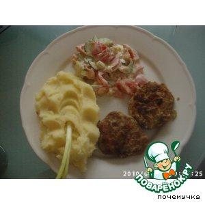 Рецепт Бифштекс рубленый