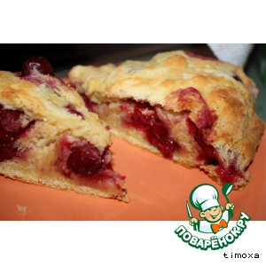 Рецепт Пирог-рулет с вишней