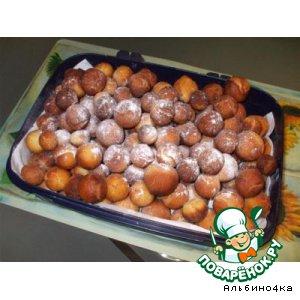 Пончики творожные домашний пошаговый рецепт с фото
