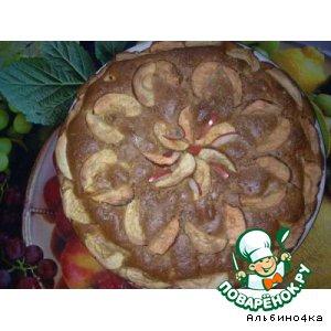 Рецепт Пирог яблочный с корицей