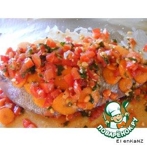Рецепт Запеченная рыба по-вьетнамски