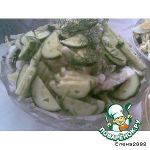 Рецепт Просто овощной салатик