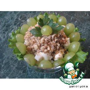 Рецепт Салат с курицей, черносливом и корнем сельдерея