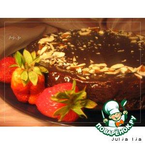 Рецепт Шоколадно-ореховый торт без муки