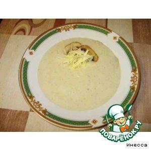 Рецепт приготовления с фото Грибной суп-пюре