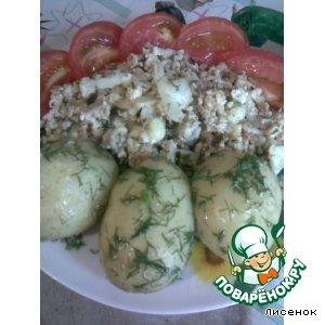 Рецепт Цветная капуста в яйце
