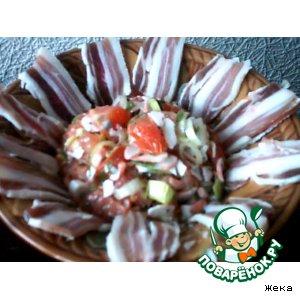 Рецепт Салат пикантный с беконом