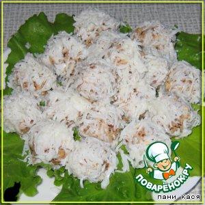 Рецепт Сырно-ореховые шарики