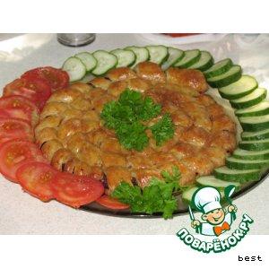 Рецепт Домашняя колбаса в хрустящем тесте
