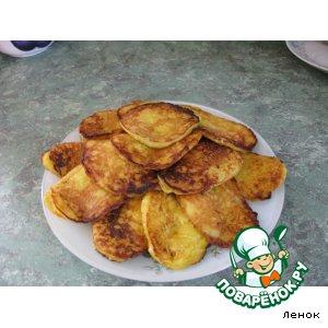 Рецепт Оладушки из кабачка