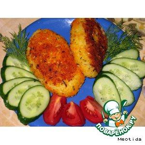 Рецепт Зразы из картофеля с рыбкой