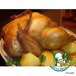 Рецепт Курица в ткемали