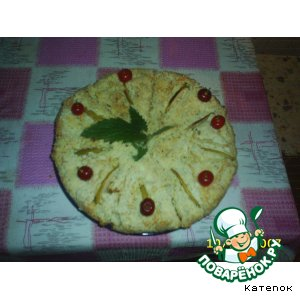 Рецепт Пирог творожный нежный!!