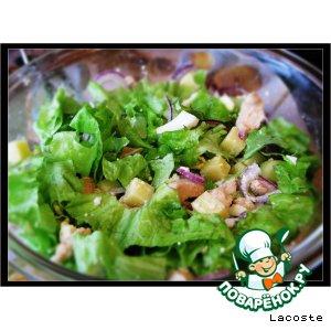 Рецепт Куриный салат с сыром