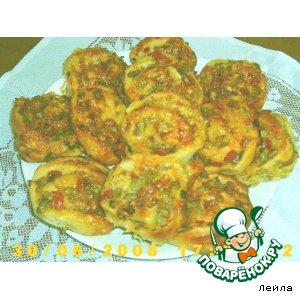 Готовим рецепт приготовления с фотографиями Мини-пицца