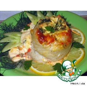 Рецепт Рулетики из рыбного филе