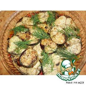 Рецепт Тунец с овощами по-домашнему