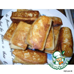 Рецепт Блинчики с паштетом из куриной печени