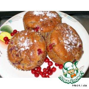 Рецепт Маффины с ягодами