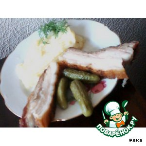 Рецепт Просто свининка