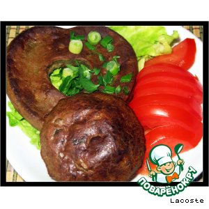 Рецепт Печеночные маффины с грибами