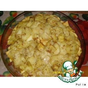 Рецепт Картошка в микроволновке