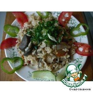 Рецепт Плов с баклажанами