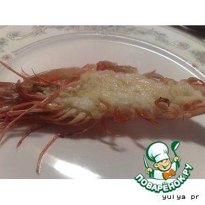 Рецепт Запеченные креветки