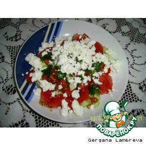 Рецепт Шопский салат