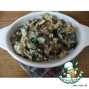 Салат из баклажанов кулинарный