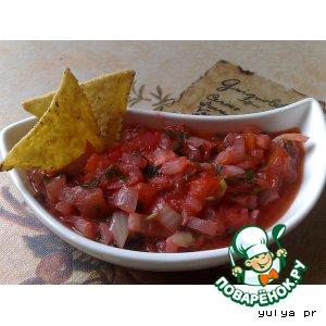 Рецепт Соус для мексиканских кукурузных чипсов