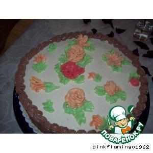 Рецепт Сделаем розочки для торта