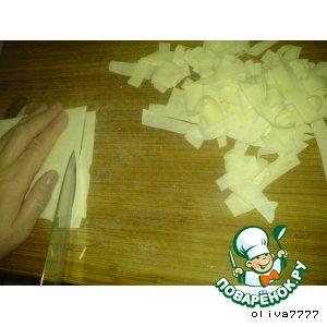 Готовим вкусный рецепт приготовления с фото Лапша домашняя