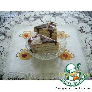 Торт из печенья пошаговый рецепт приготовления с фотографиями готовим