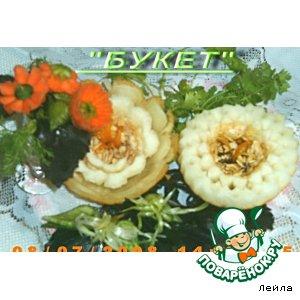 Готовим Цветы-украшения рецепт с фото пошагово