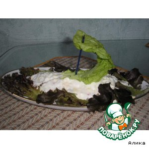 Рецепт Салат «Морской бриз»