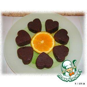 Рецепт Шоколадные сердца
