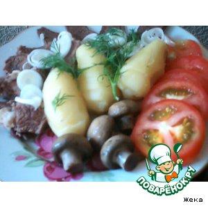 Шампиньоны маринованные вкусный пошаговый рецепт приготовления с фото готовим