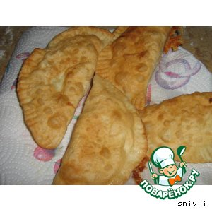 Рецепт Чебуреки с сыром