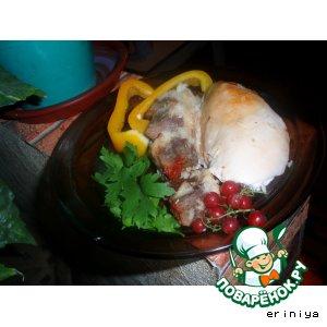 Рецепт Фаршированый цыпленок