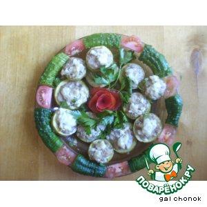 Рецепт Кабачки, фаршированные мясом
