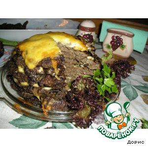 Как приготовить Печeночная горка рецепт с фото пошагово